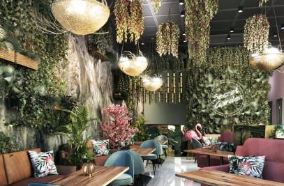 Secret Garden Theme Restaurant Design