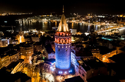 Galata Tower's Lighting Design