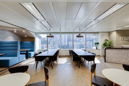 TNG Hong Kong - Best office interior design by Space Matrix