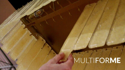 Charleston - Plafoniera in vetro di Murano by MULTIFORME® lighting