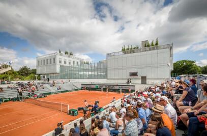 Roland-Garros Stadium Modernization