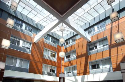 Sinai Hospital Atrium Railing