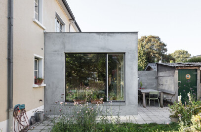 Extension To A Suburban Home Brussels