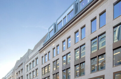 Skanska regional HQ at 51 Moorgate