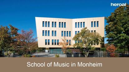 School of Music in Monheim | heroal references