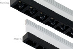 """T24 and T15 (15/16"""" and 9/16"""") T-BAR LED black Multi-Reflector lens"""