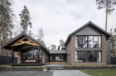 Forest House near Moscow