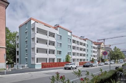 Freihofstrasse residential building