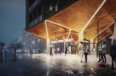 Oslo Fornebu Centre Station Competition