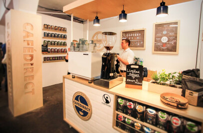 Cafedirect Trade Stand
