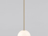 Brass Architectural Collection Pendant 250