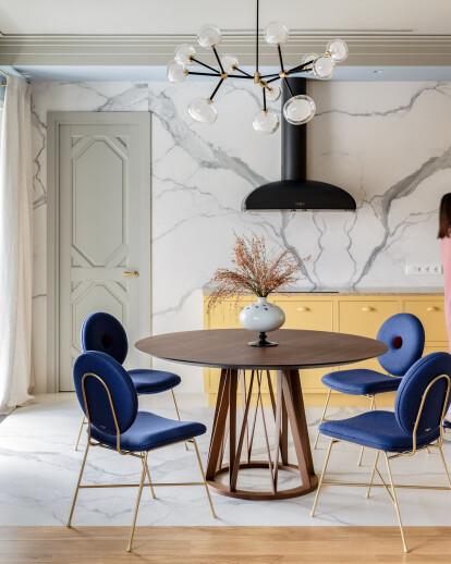 Caramel Blue Apartment