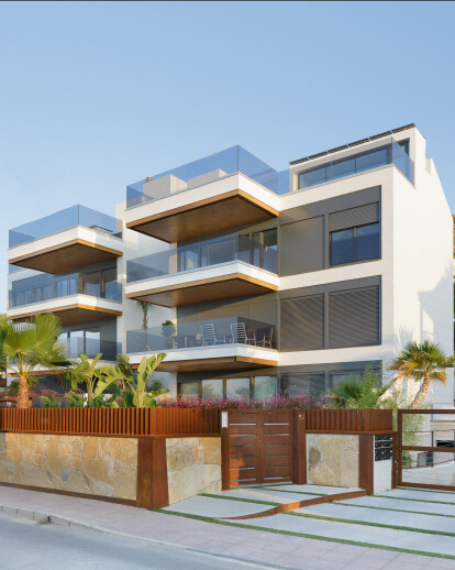 Six exclusive residences