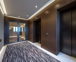 Residents' elevators with Armani accents from Monotti