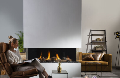Summum 140 Gas Fireplace