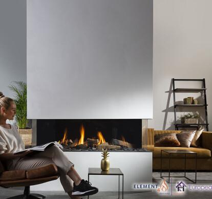 Summum 140 Gas Fireplace