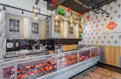 Interior Design Premium Angst Butcher shop