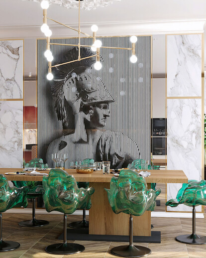 Interior Design Modern Luxury Penthouse