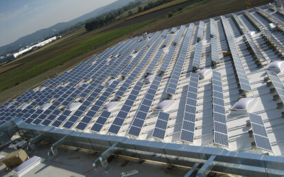 Firestone UltraPly TPO Photovoltaic roof