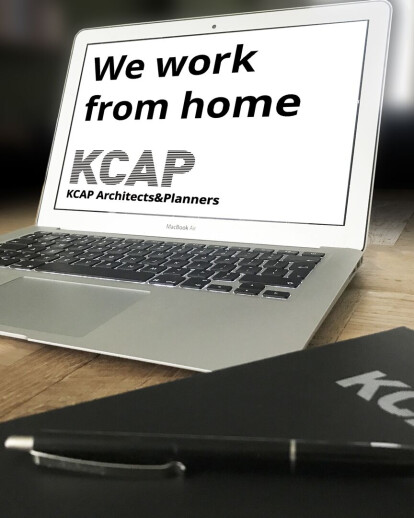 Architects work from home: KCAP
