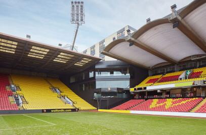Hertfordshire Watford Football Stadium
