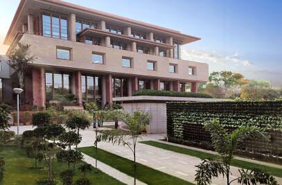 NEW COURTS BLOCK AT DELHI HIGH COURT NEW DELHI