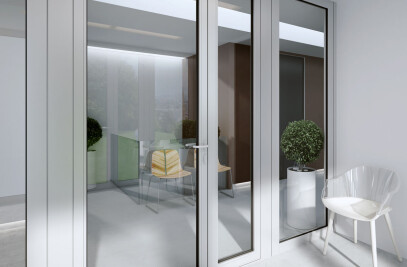 MB-60E EI  Fire rated partitions with doors