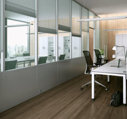 MB-80 OFFICE - partition walling system