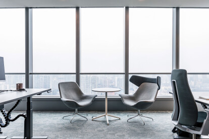 Polestar Shanghai - Modern office design by Space Matrix