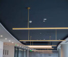 Polestar Shanghai by Space Matrix - Mood shot of workplace technology and lighting