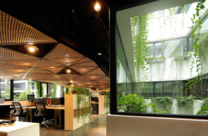 Featured working space of FPT Software