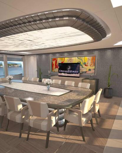 """Concept - Fincantieri Yachts 77m """"Griffin"""""""
