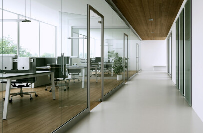 MB-45 OFFICE - internal door and wall partition system
