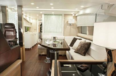 "Interior Bobič Yacht 23,5m ""Two Roses"""