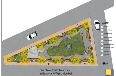 Perspective towards use of a traffic island
