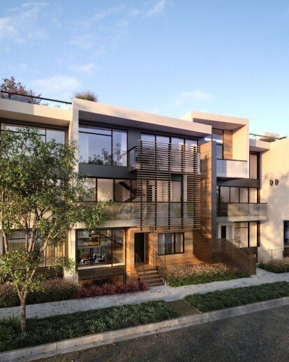 luxury modern multifamily project