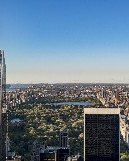 Manhattan's strict zoning law moulds 53 West 53's needlelike tower shape designed by Jean Nouvel Architects