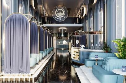 Modern Luxury Café on Ath Thumamah Road