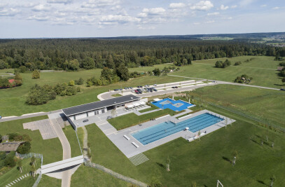 Panorama Outdoor Pool in Freudenstadt/GER