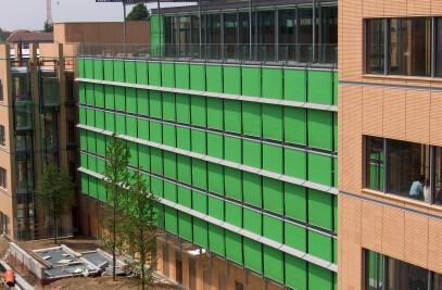 Exterior sun shading facade