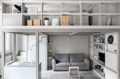 Living little, Loft 38 mq - Milan