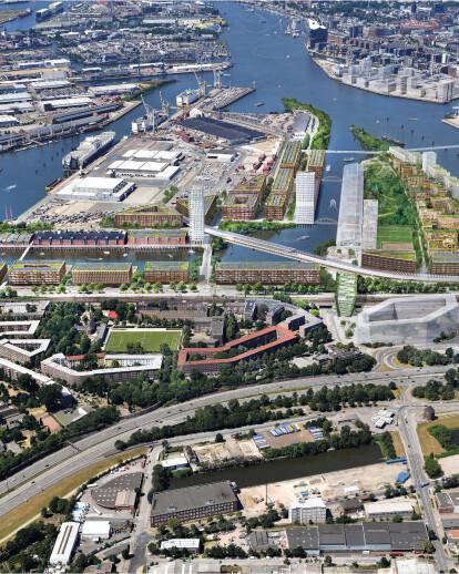 Herzog & de Meuron wins competition to turn former Hamburg port area into a new neighborhood