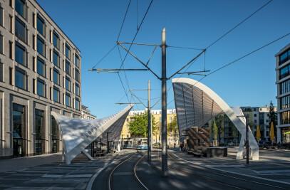 Tram Schwabinger Tor