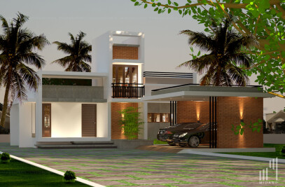 Residence Concept for Mr. Manoj at Palakkad .