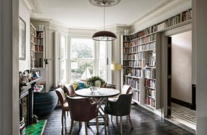 An Eclectic Victorian Home Refurbishment