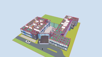Admin Building -University of Kashmir-BIM