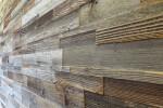 Cube Reclaimed wood sunbaked