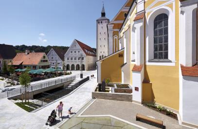 Platz Jesuitenkirche