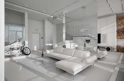 white penthouse