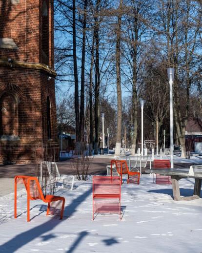 Renovation of the historical center of Zaraysk